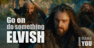 Oakenstill #5: Do something Elvish - pt.1 by PeckishOwl