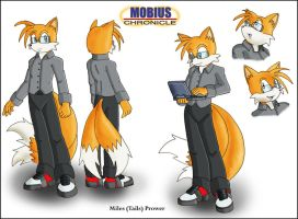 Mobius Chronicle: Miles Prower by zeiram0034