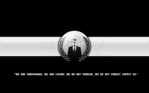 Anonymous Wallpaper Black by joe-designata