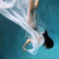 Underwater Ballerina by KenMyersPhotography