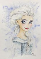 Elsa The Snow Queen by Cecilia-Pekelharing