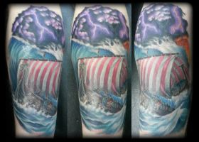 Longboat by state-of-art-tattoo
