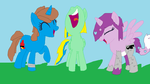 Trio Icons by PaintTasticPony