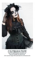Halloween 2014 SPECIAL Skull Lady Stock 003 by MADmoiselleMeliStock