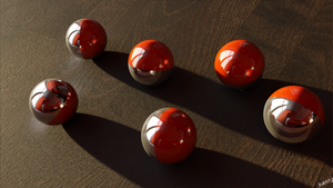 3D Balls by Ineray