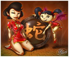 Year of the Snake 2013 by Dzappa7778