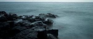 Misty Rocks stock by little-spacey