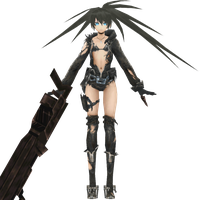 Black Rock Shooter The Game, Stella/BRS Lost All by xXNekochanofDoomXx