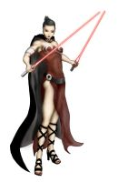 Dark Jedi Woman by Lillejord