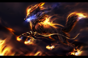 'Running wild' [P] + SPEEDPAINT ADDED by Vyrosk