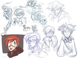 KD - Sketchdump by MarionetteDolly