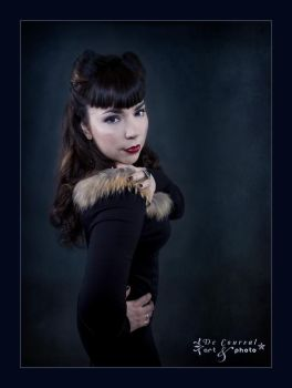 Miss Midnight Blue II by JosieLabelle
