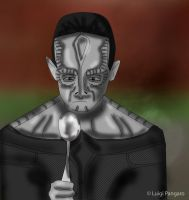 A Cardassian Meets A Spoon by squidge16