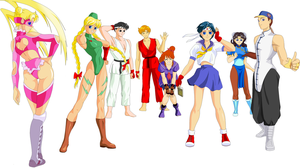 Sailor Street Fighter by txsnew