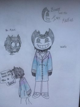 Bendy and the Ink Machine - Wolfie Fan-Made Design by WolfieTheWolfFNAF
