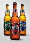 Knight Beer - Bottle Mock-up by Risea