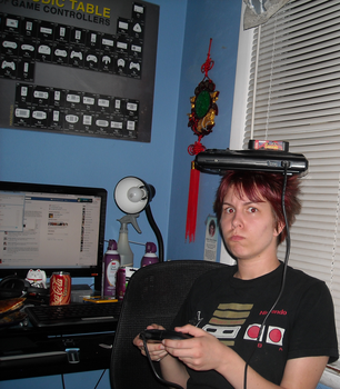 GAMER GURRRRRL!!!!111111!1! by TeamAquaSuicune