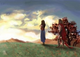 spartacus farewell by berowl