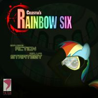 Celestia's Rainbow Six by dan232323