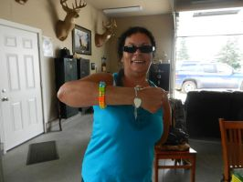 Aunt Debbie and her Lego by murderscene6