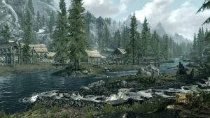 Morning in Riverwood by Conn1321