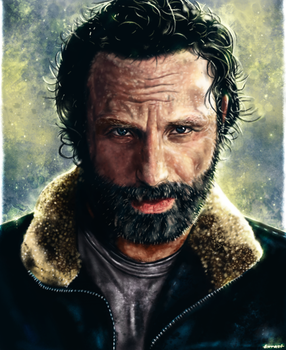 The Walking Dead - Rick Grimes by p1xer