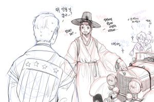 stony in 1400's korea by nechy0