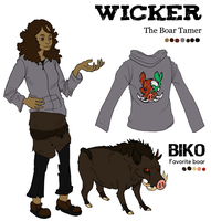 Wicker Character Reference by CorvusRaven