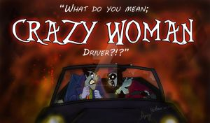 What do you mean Crazy Woman Driver by Mad--Munchkin