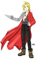 Gift- Ed Elric by Ita-Freak