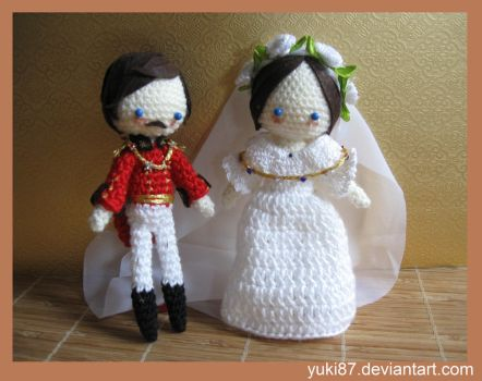 commission: Wedding Victoria and  Albert by Yuki87