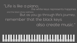 Life Is Like A Piano by CaptainMishan