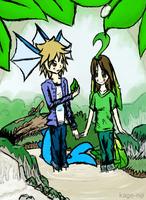 And there were dewdrops on the leaves~ by kage-niji
