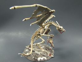 Undead Dragon full view by goofeegrins
