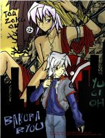 Ryou and Tou-Zoku-Ou Bakura by mingming07