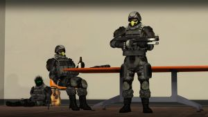 [SFM] New Soldiers by Narox22