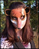 Halloween Fox Mask by Jedi-With-Wings