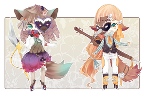 [CLOSED] Collab With Piffi-adoptables by Serendipiter