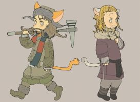 The Hobbit 17+18 by matsutakedo