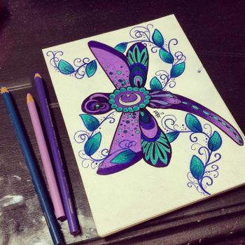 Dragonfly by Bumble666Bee