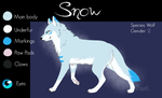 -Ref Sheet- Snow by Chimaruk