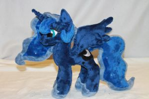 Tiny Princess Luna Plush by KarasuNezumi