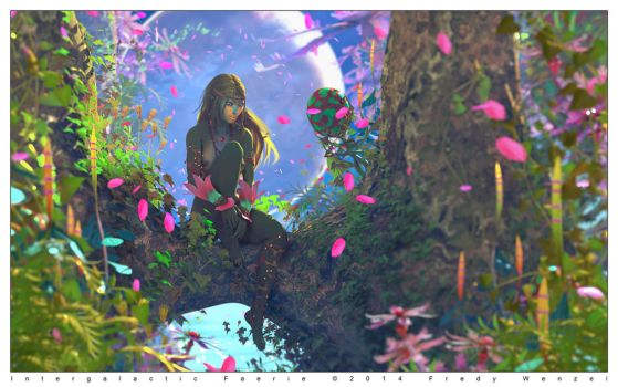 Intergalactic Faerie by Fredy3D