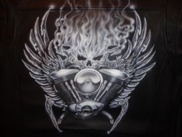 Leather Jacket 3 by LukeSobczakAirbrush