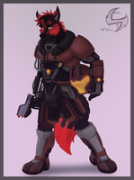 FA Commission: Halo Soldier by FrostyPuppy