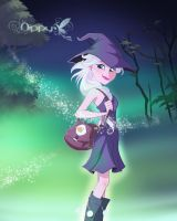 Elsa-I'm a witch indeed... by Nippy13