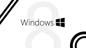 Windows 8 -- Black and White by Tandyman100