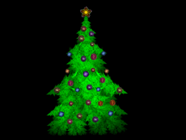 My Apophysis Christmas Tree by Actionjack52