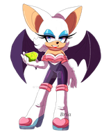 Rouge the Bat by Toraleii
