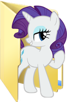 Custom Rarity folder icon 2 by Blues27Xx